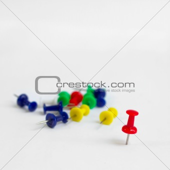 Group of Plastic pin