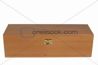 Close wooden box