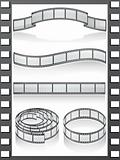 set filmstrip icons
