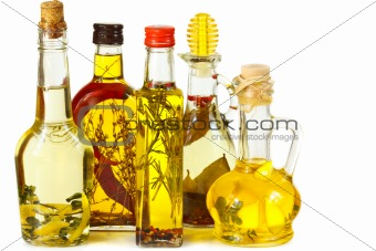 Aromatic olive oil.