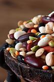 Legumes close-up.