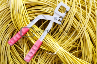 Tool and cable