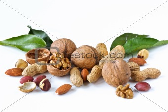 Assortment of nuts.