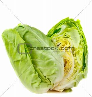 Fresh cabbage.