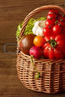 Beautiful vegetables.