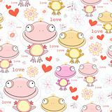 texture of the fun love frogs