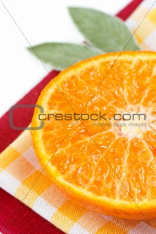 Citrus close-up.