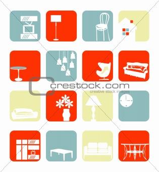 Household Interior ornaments set
