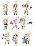cartoon chef icon