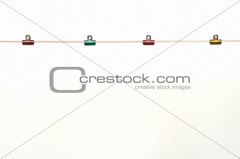 close up paper clip