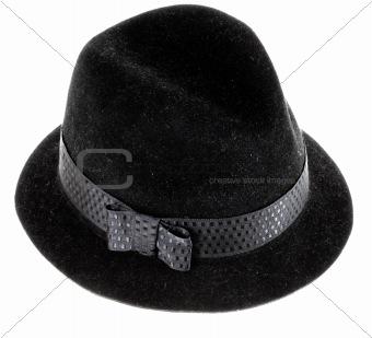 black man's hat