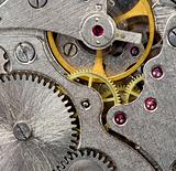 old mechanical watch close up