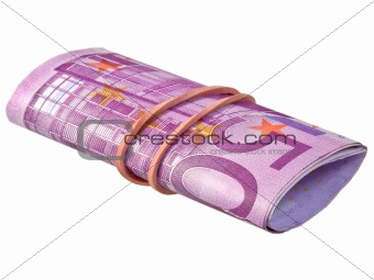 five hundred euro banknotes