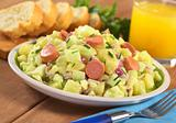 Potato Salad with Sausage
