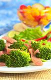 Fresh Broccoli-Ham Salad