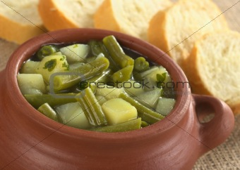 Green Bean and Potato Hotpot