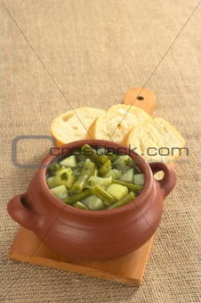 Green Bean and Potato Hotpot