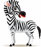 Zebra vector cartoon