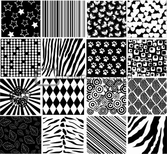 black patterns