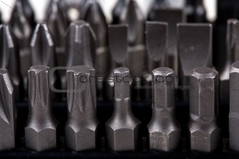 array of screwdriver