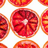 sliced red orange