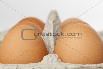 A brown egg