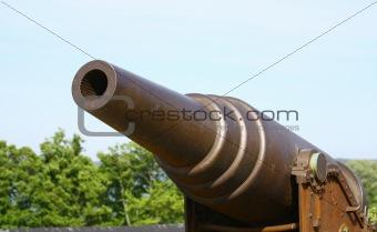 Old Russian Cannon in Suomenlinna Sveaborg Helsinki Finland