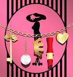 woman's chain