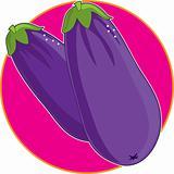 Eggplant Graphic