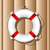 Hanging marine buoy