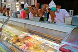 Italian ice-cream on street