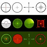 Vector Target Crosshairs