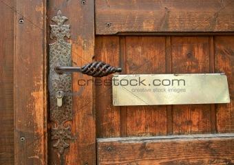 ancient door handle