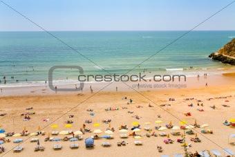 beach in Algarve, Portugal
