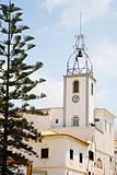 clock tower in Albufeira, Portugal