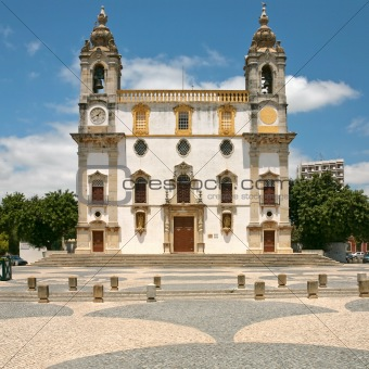 Carmo Church in Faro, Portugal