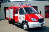 Russian fire truck
