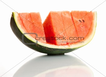 Watermelon (isolated on white background)