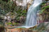 Waterfall in Tuscany