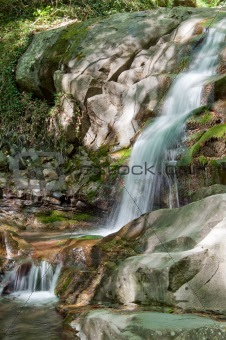 Waterfall in Tuscany