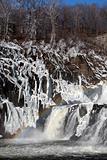waterfall on weir
