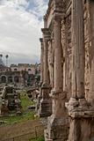 column of Arch Septimius Severus