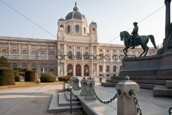 view on Kunsthistorisches Museum,Vienna,Austria