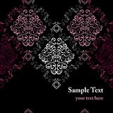 Abstract seamless stylish pattern