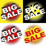 Retro Big Sale Signs
