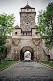 Medieval tower in Rothenburg