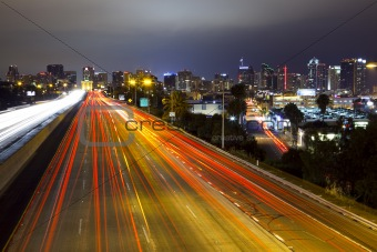 San Diego Skyline, Freeway