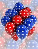 Patriotic balloons