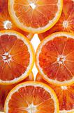 portion of sliced citrus