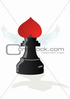 Amorous chess - Black Elephant